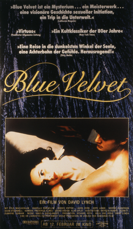 the exploration of things above and below the surface in david lynchs blue velvet