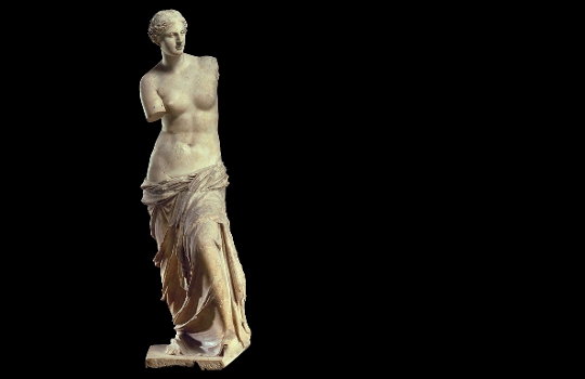 Скульптура женщины без рук
