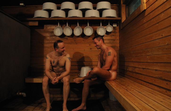 В бане голые парни 166