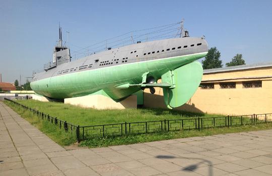 как проехать музей подводных лодок