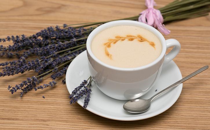 Кофе с лавандой рецепт