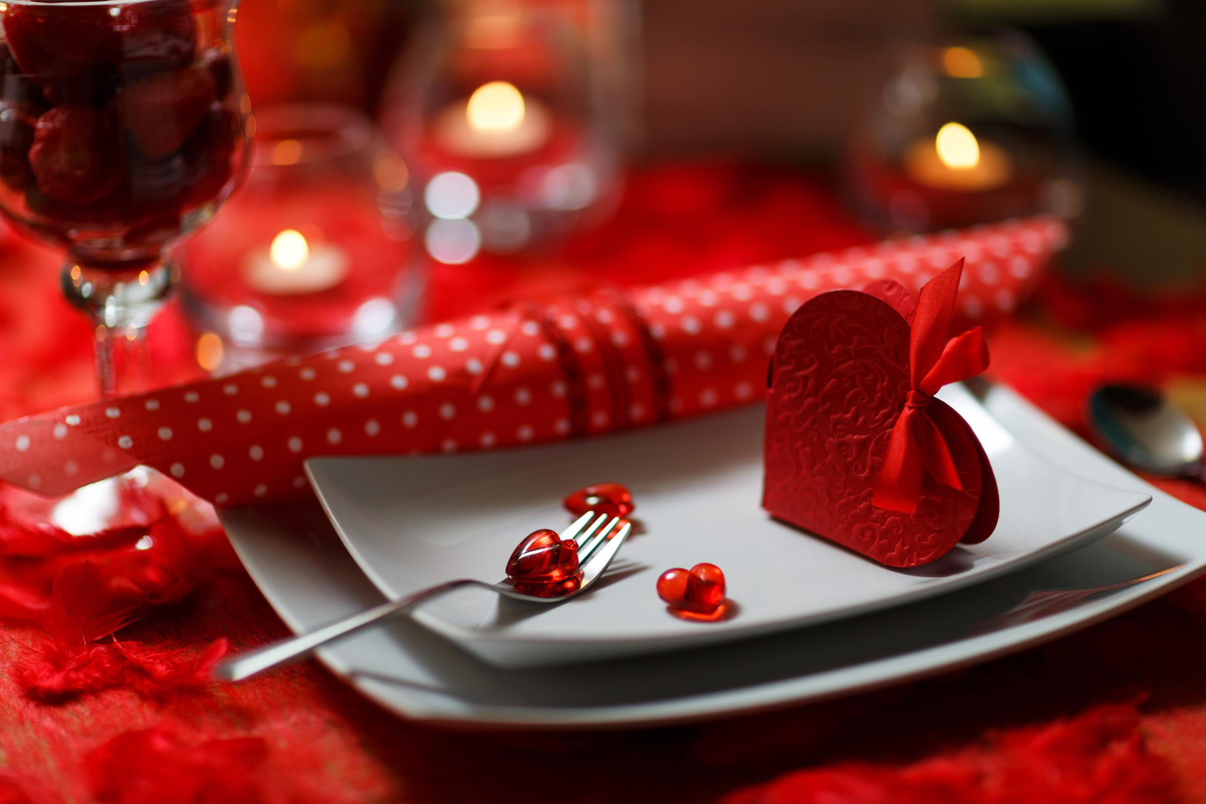 Ужин на день влюбленных своими руками
