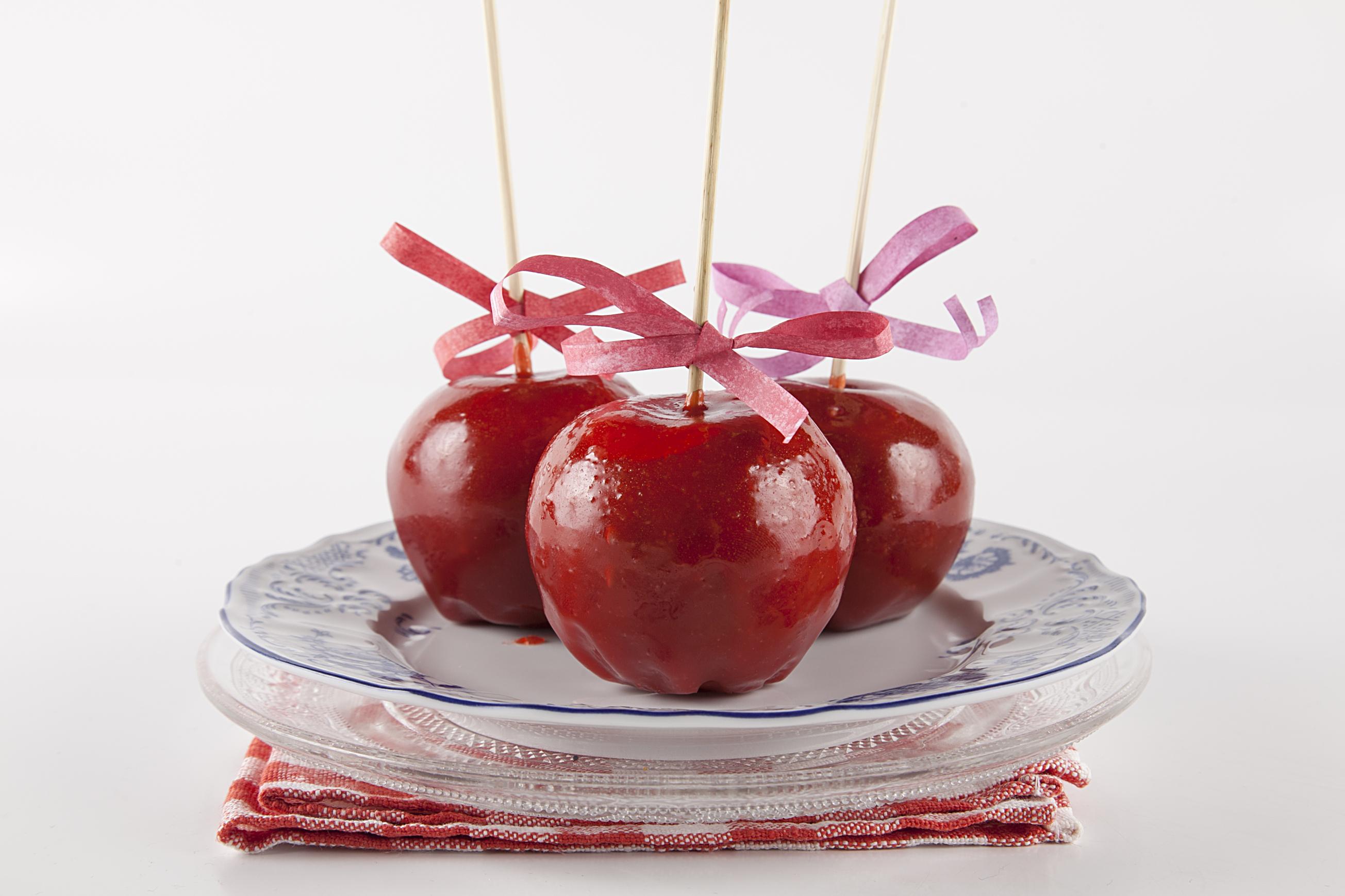 Как сделать яблоки в карамели в домашних условиях