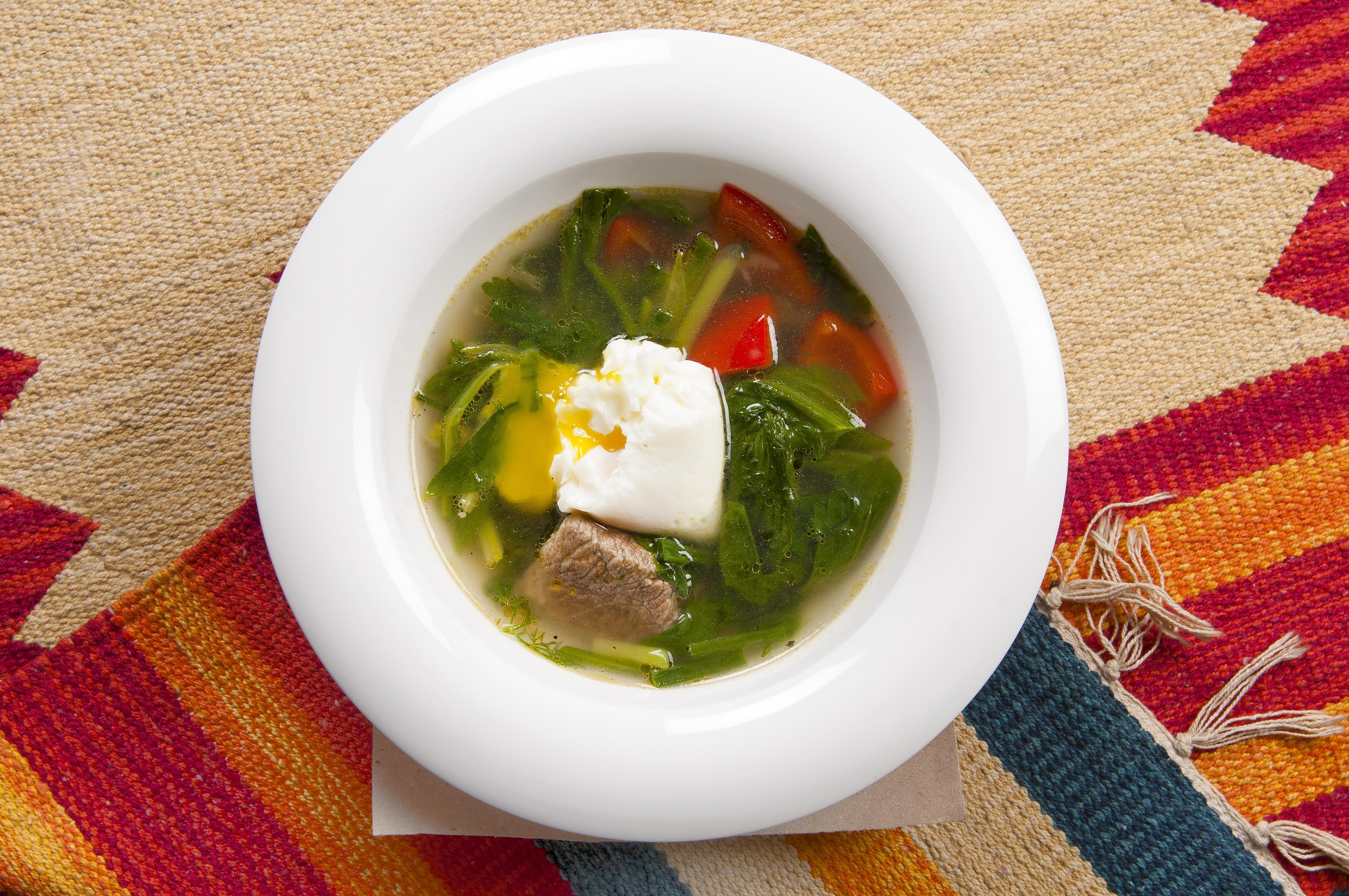 Весенний суп рецепт пошагово