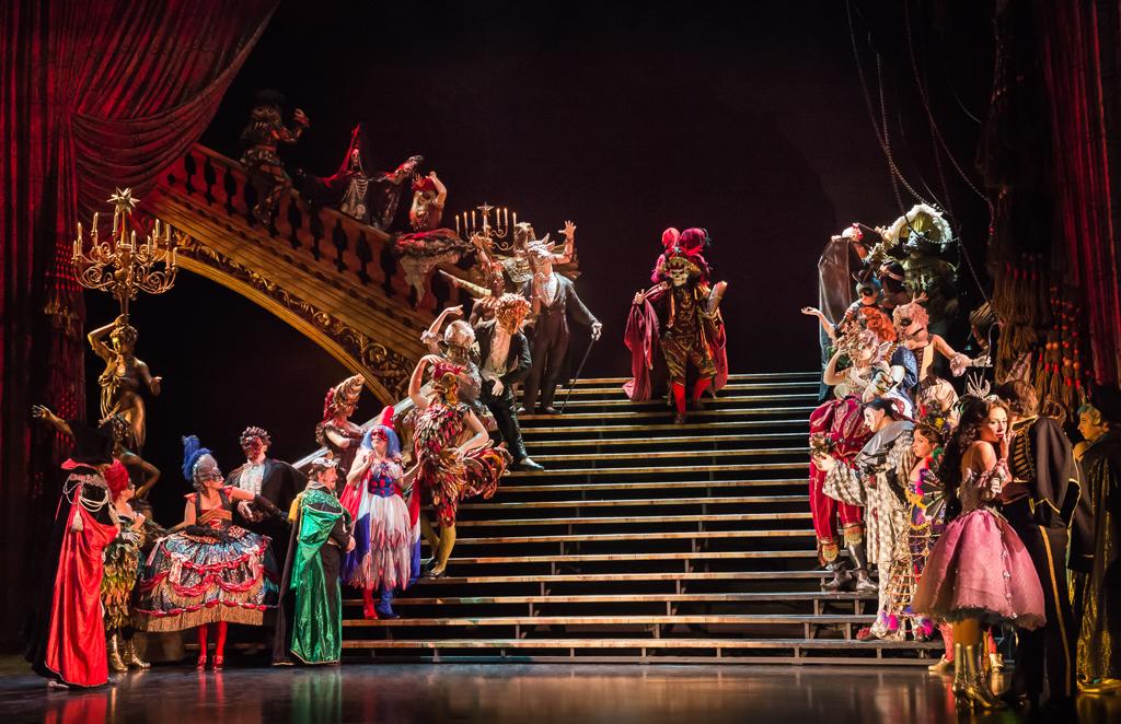 Новый год с призраком оперы
