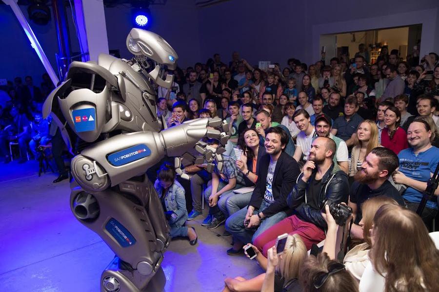 Выставка роботов на вднх 2018 когда