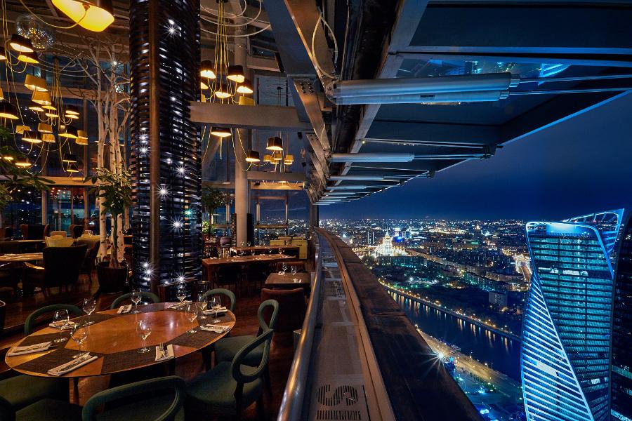 Ресторан с хорошим видом в москве