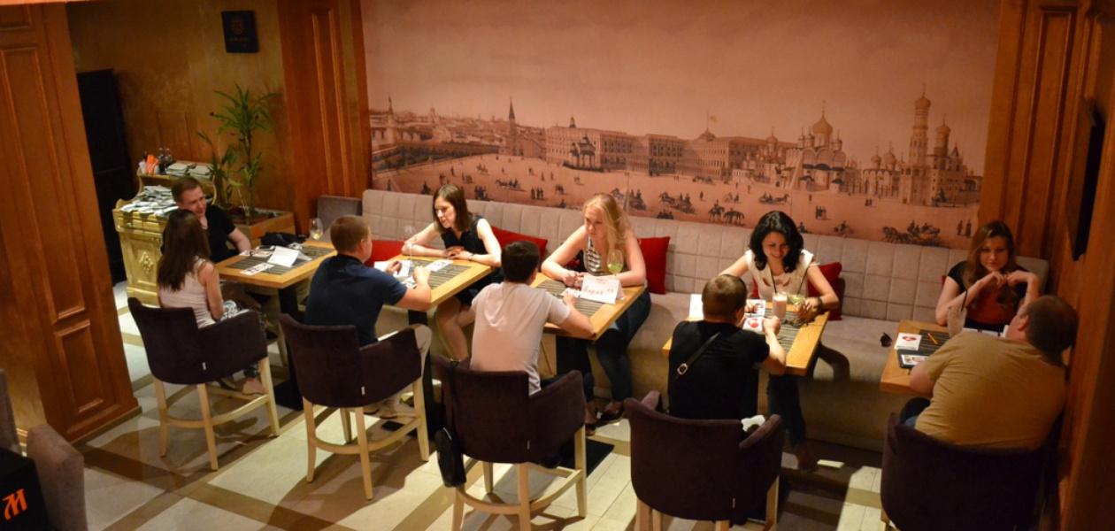 В кафе ресторане знакомства