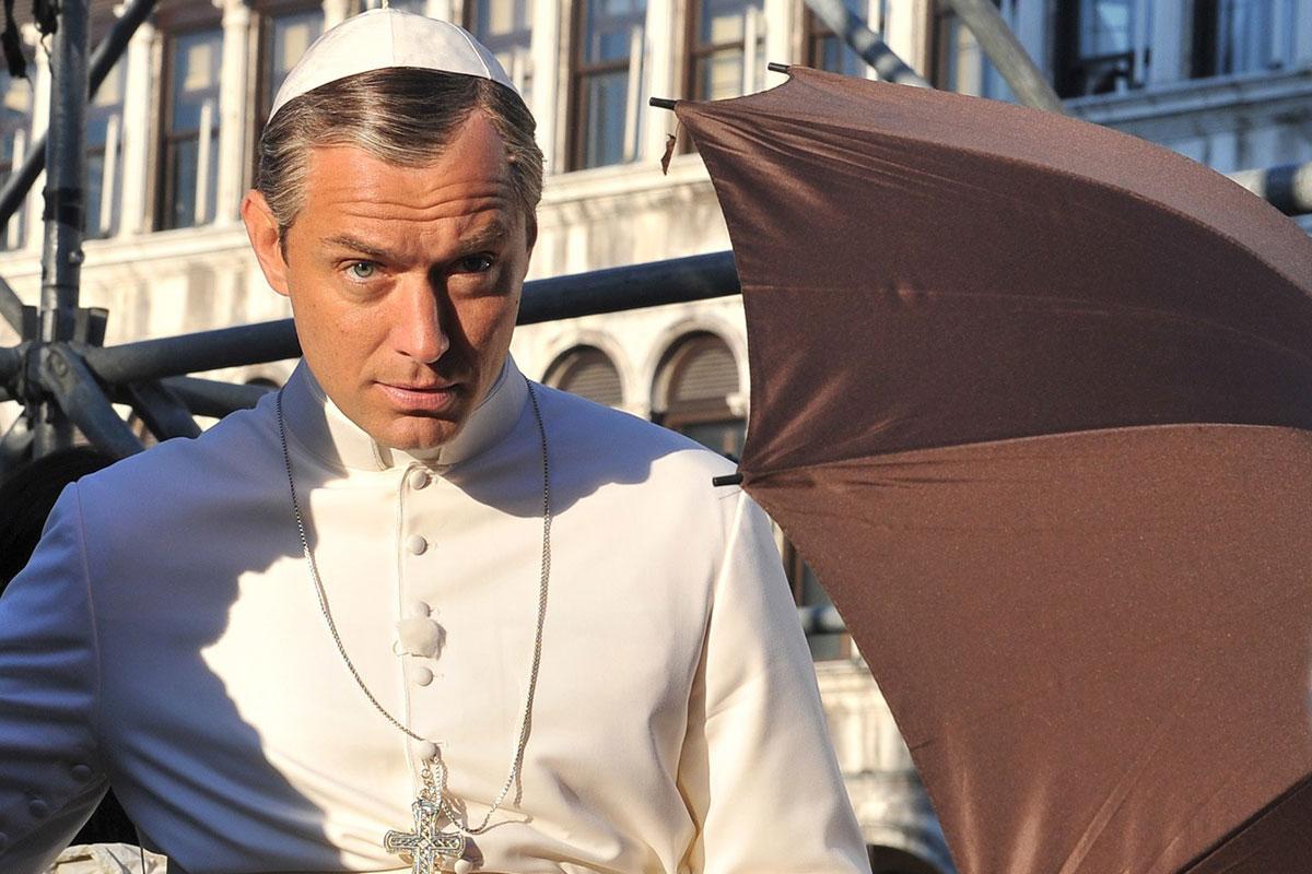 Молодой папа обои на рабочий стол