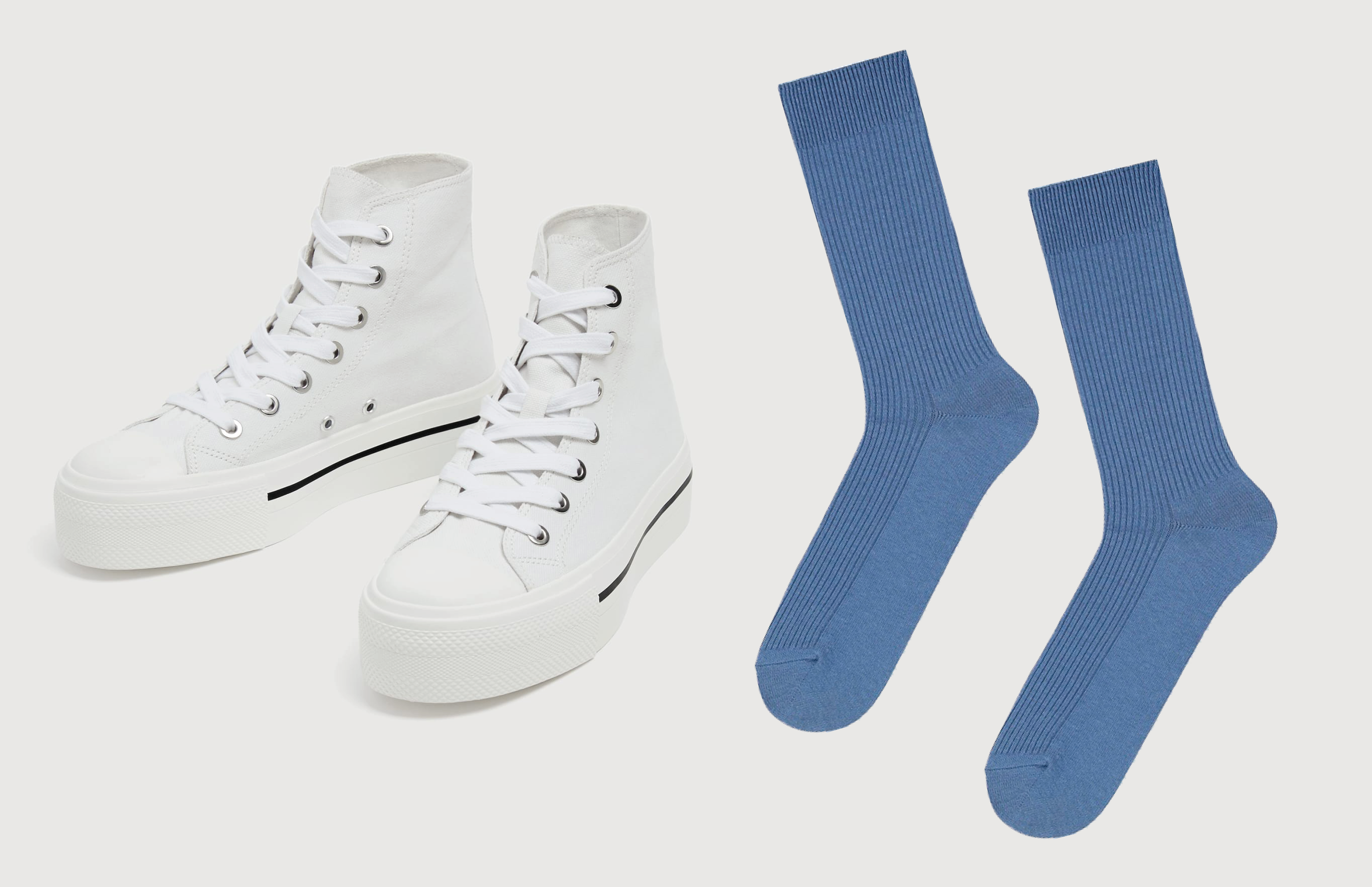 1462599d Идеальное сочетание: высокие кеды и носки в рубчик | Мода и Красота | Time  Out
