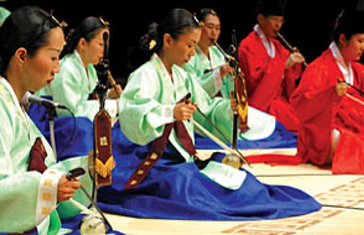 Корейский королевский оркестр Gu-Eum-Hwe