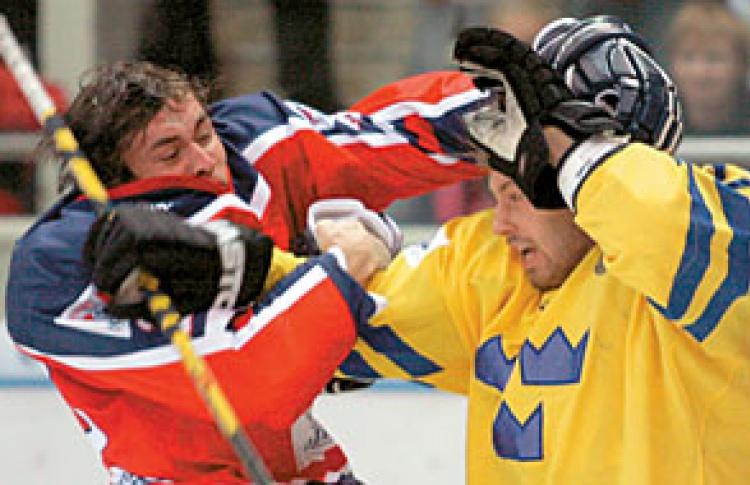 Хоккей. Кубок европейских чемпионов