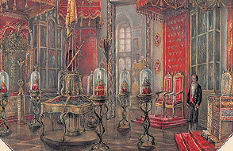 Российские императоры и Оружейная палата