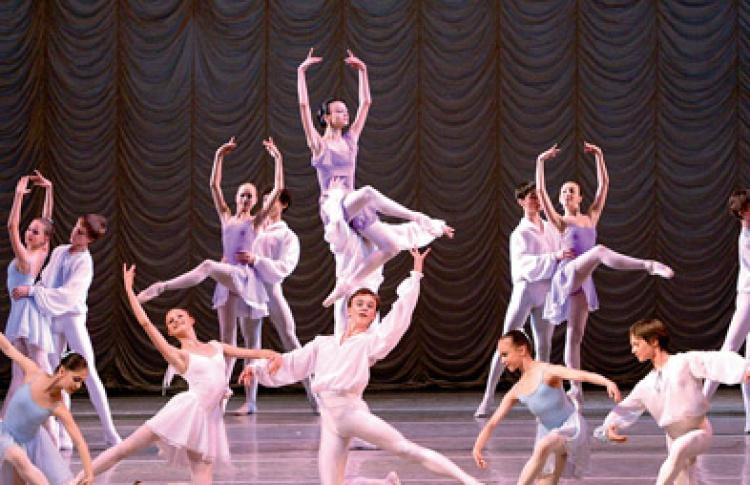 Выпускной спектaкль Академии Русского балета им. А. Я. Вагановой
