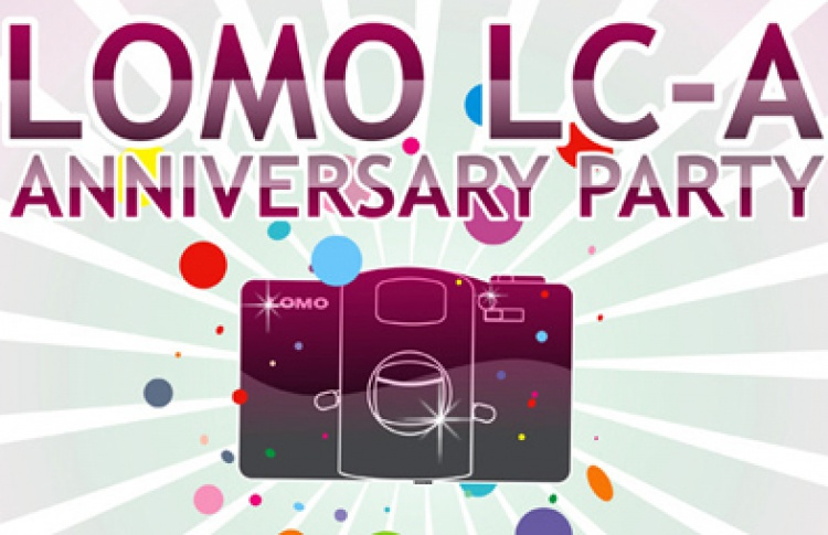 Lomo LC-A Anniversary Party