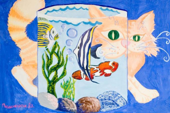Выставка лучших детских художественных работ