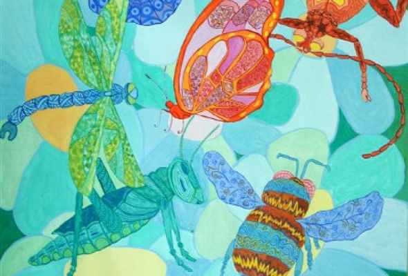 Выставка лучших детских художественных работ - Фото №1