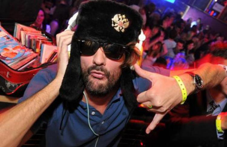 DJ-set Frederic Beigbeder (Франция)