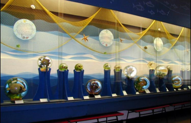 Подводный мир в волшебных шарах