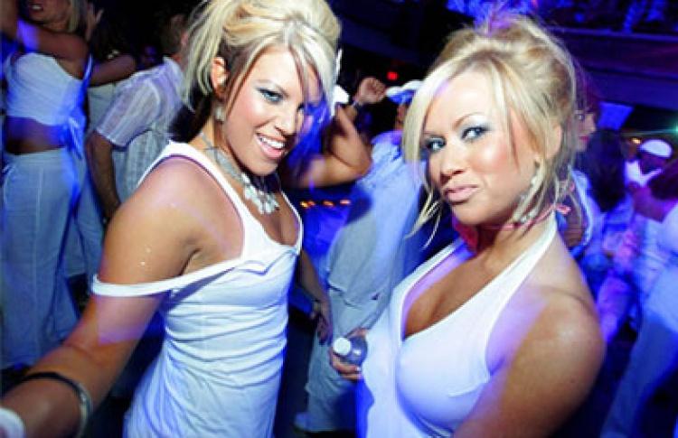 White Party. Illusions Night: DJs Arram Mantana, List, Паша Кореец, Паша Портнов, Smash