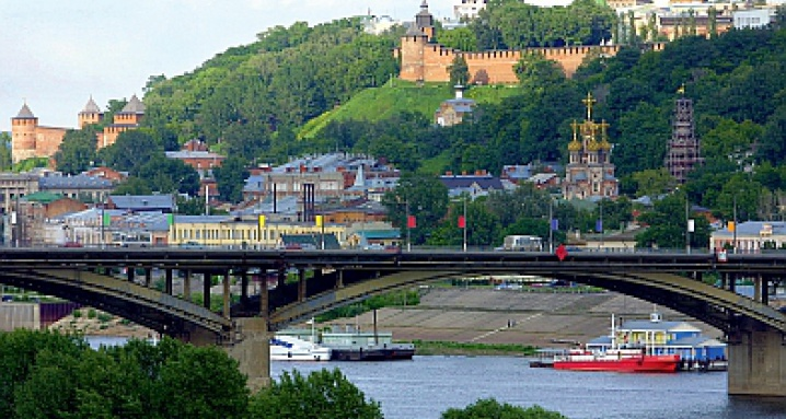 Нижний Новгород. Город холмов