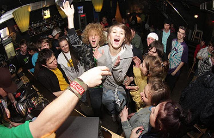 Cream Party x Sneaker.ru vol.4. DJs Pablo D, Митя Golkaksokol, Vinegretta (rock), H-alk, Benji, Blaze Faces (hip-hop)