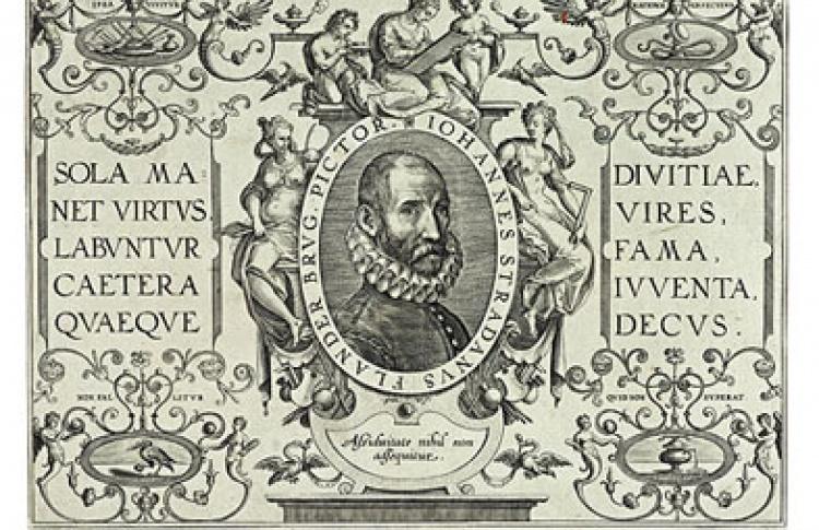 Портреты художников в западноевропейской гравюре XVI-XVIII вв.