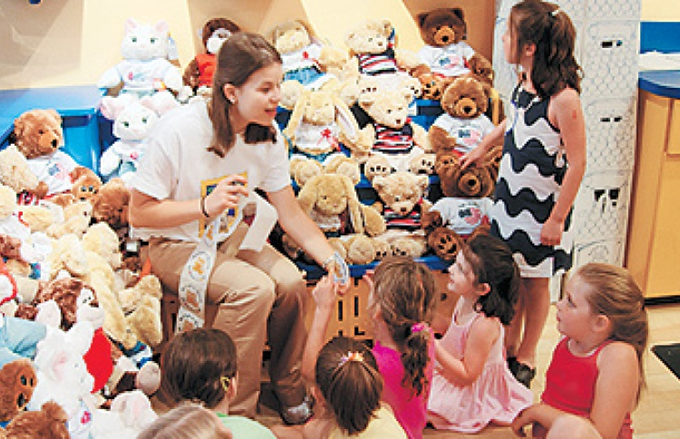 Мастерская Build-A-Bear Workshop