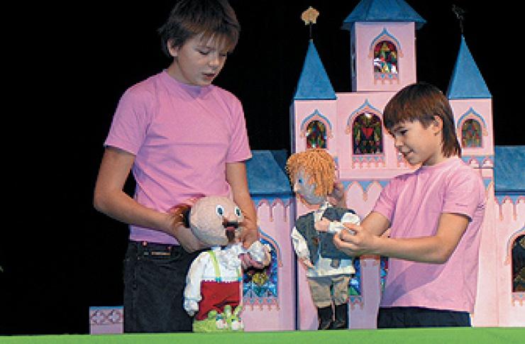 Фестиваль детских театров