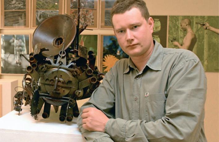 Куратор выставочного проекта «Русский лес» Никита Сазонов овыставке