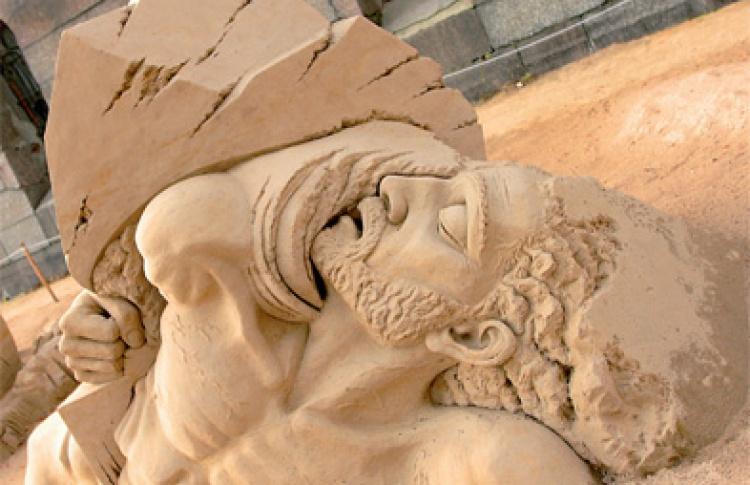 VIII Международный фестиваль песчаных скульптур