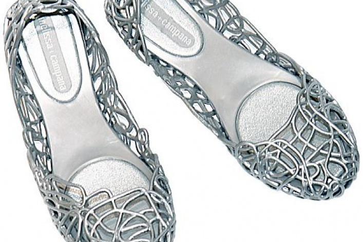 Бразильская обувь Melissa в магазинах JNBY