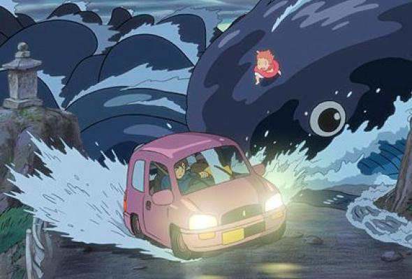 Рыбка Поньо на утесе - Фото №5