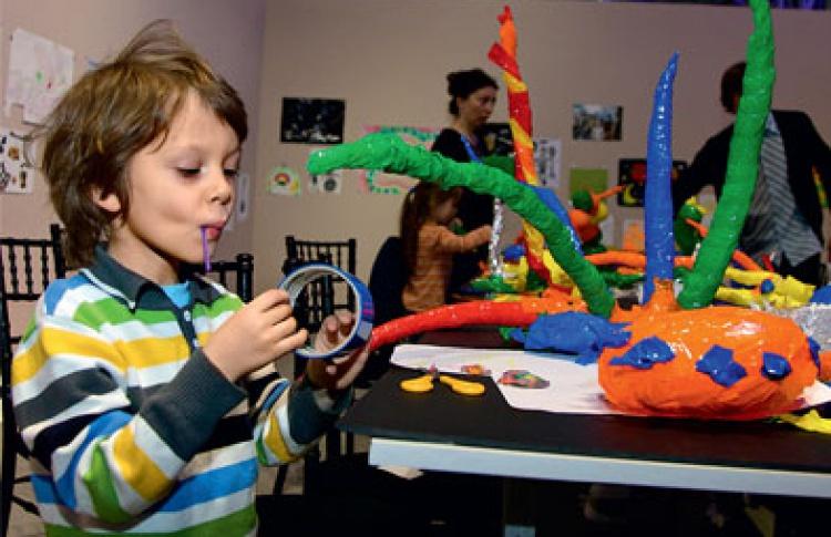 ЦСК «Гараж» обзавелся детским клубом