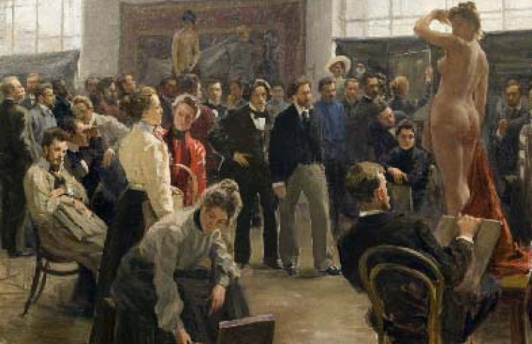 Автопортрет и портрет художника. XVIII-XXI в.
