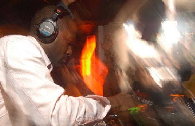 DJ Orin Walters aka Afronaught (Великобритания)