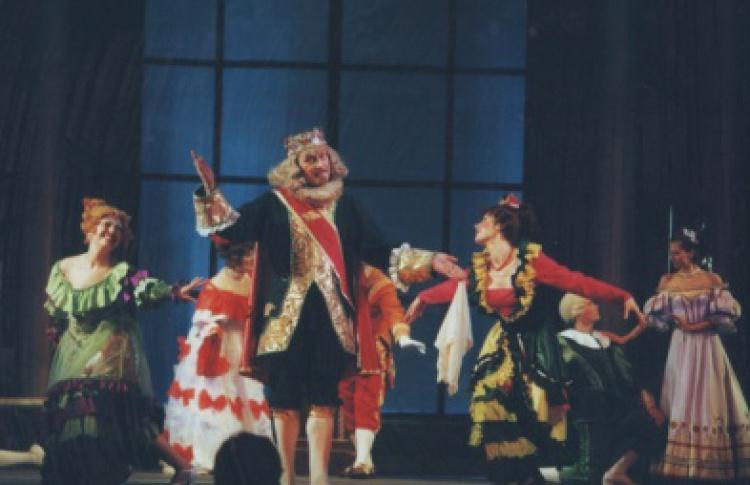 Сказка о золушке, принце и доброй фее