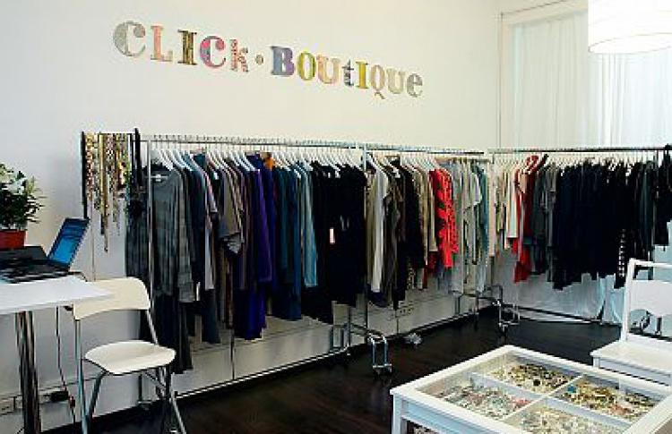 Интернет-магазин Click-boutique