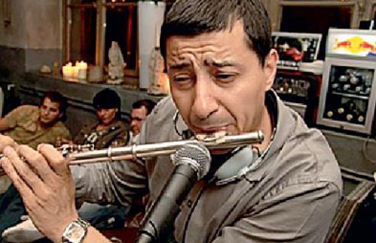 The Muzik: DJs Амар Кабуш aka Jazzamar (Франция), Андрей Дубинин vs Lay-far