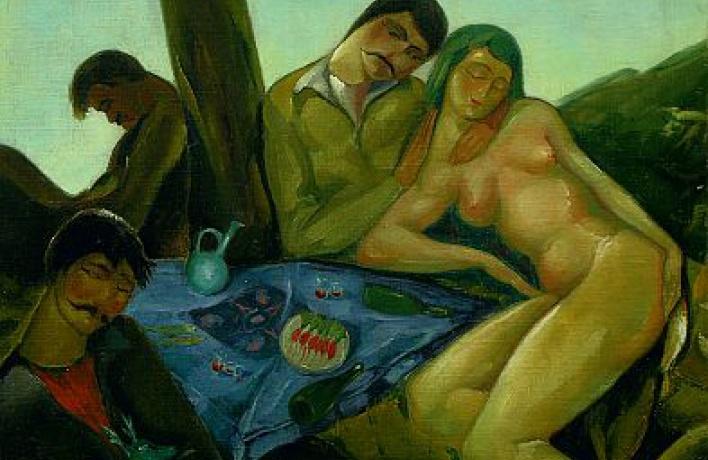 Выставка самого советского грузинского классика