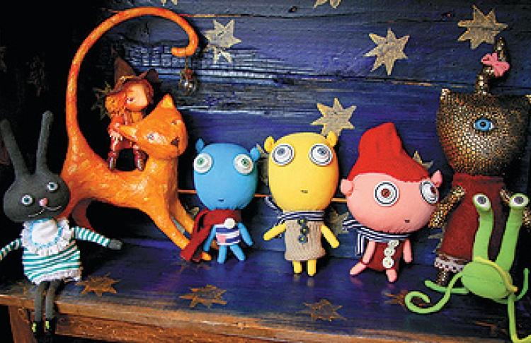 Выставка авторской игрушки