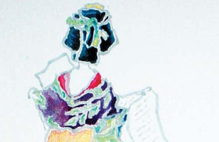 Персональная выставка Сатиэ Окиаи