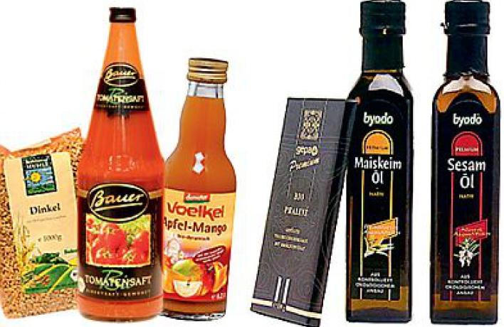 Магазин био-продуктов