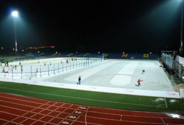 """Каток """"Море замерзло"""" на стадионе """"Янтарь"""" - Фото №0"""