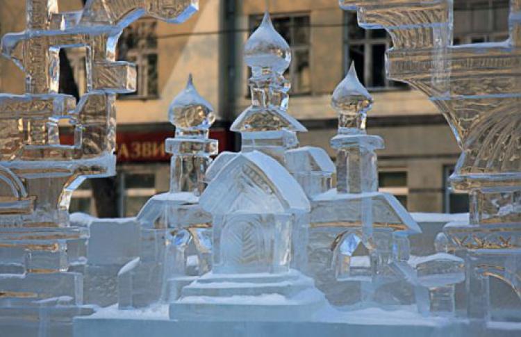 Вцентре Москвы установят ледяной царь-колокол