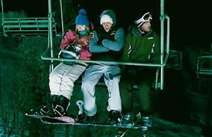 Трейлер хоррора «Замерзшие»: трое наподъемнике несчитая лыжных палок