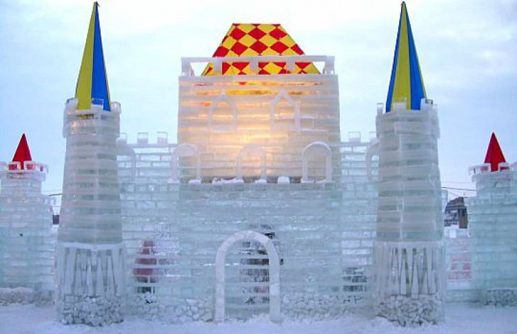 НаПоклонной горе построят ледяной город