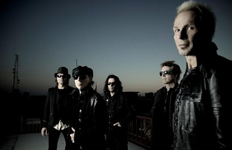Scorpions представят вМоскве новый альбом вмарте 2010 года