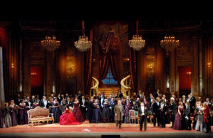 """Опера """"Травиата"""" прямо из La Scala"""