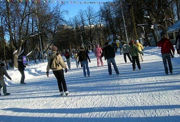 Каток в Сокольниках - Фото №1